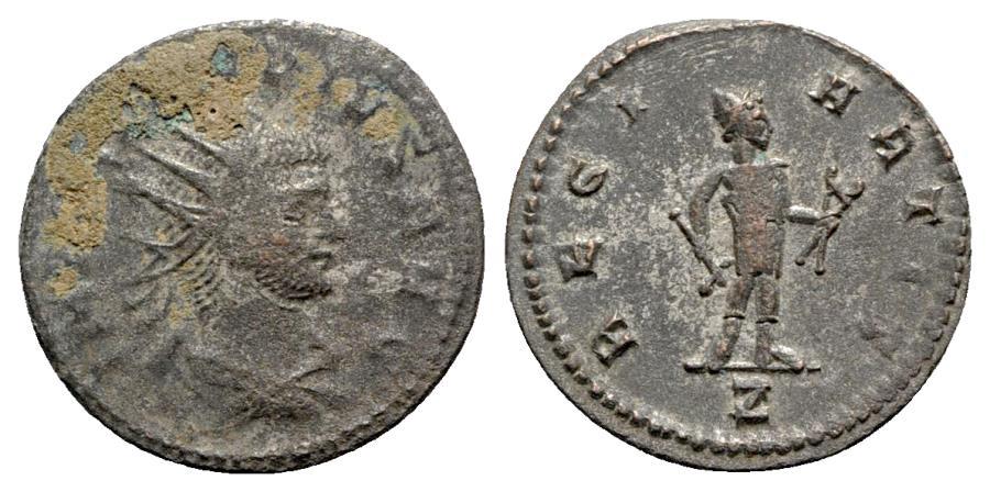 Ancient Coins - Claudius II (268-270). Radiate - R/ Vulcan