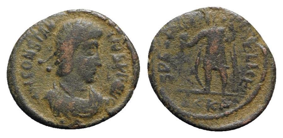 Ancient Coins - Constantius II (Caesar, 324-337). Æ - Cyzicus