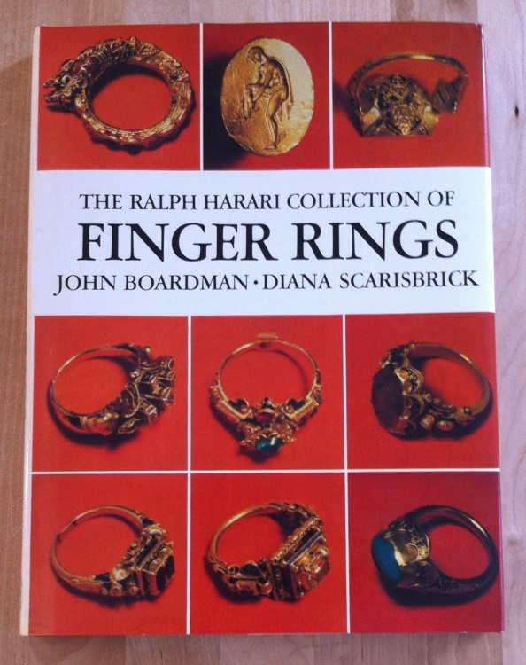 Ancient Coins - John Boardman and Diana Scarisbrick - The Ralph Harari Collection of finger Rings