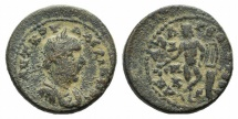 Ancient Coins - Valerian I (253-260). Cilicia, Anazarbus. Æ 22mm. Dated CY 272 (253/4). R/ Apollo