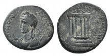 Ancient Coins - GALATIA, Koinon of Galatia. Pseudo-autonomous issue. Time of Galba, AD 68-69. Æ 21mm VERY RARE