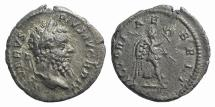 Ancient Coins - Septimius Severus. AD 193-211. AR Denarius. Rome mint. Struck AD 210-211. British Reference Type