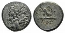 Ancient Coins - Bithynia, Dia, c. 85-65 BC. Æ 19mm R/ Eagle