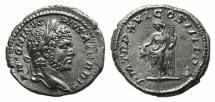 Ancient Coins - Caracalla (198-217). AR Denarius. Rome, 213. R/ LIBERTAS