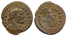 Ancient Coins - Galerius (Ceasar, 293-305) Æ Follis - Londinium