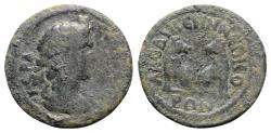 Ancient Coins - Phrygia, Laodicea ad Lycum. Pseudo-autonomous issue, time of Philip I (244-249). Æ - Senate / Kapros and Lykos