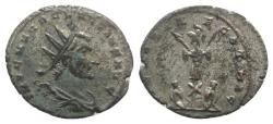 Ancient Coins - Claudius II Gothicus. AD 268-270. Antoninianus  R/ TROPHY EXTREMELY RARE