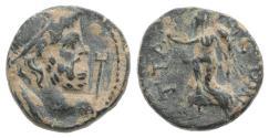 Ancient Coins - Pamphylia, Attaleia. Pseudo-autonomous, time of Marcus Aurelius (161-180). Æ 12mm