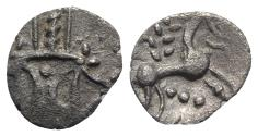Ancient Coins - Celtic, Iceni. Ecen, c. AD 25-38. AR Unit. R/ Horse