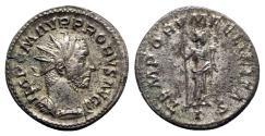 Ancient Coins - Probus (276-282). Radiate - Lugdunum - R/ Felicitas