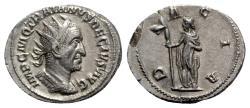 Ancient Coins - Trajan Decius (249-251). AR Antoninianus - Rome - R/ Dacia