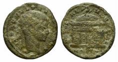 Ancient Coins - Divus Romulus (died AD 309). Æ Quarter Follis. Ostia, 309-312. RARE