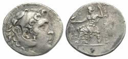 Ancient Coins - Lycia, Phaselis, c. 218/7-186/5 BC. AR Tetradrachm. In the name and types of Alexander III of Macedon, year 26 (193/2 BC).