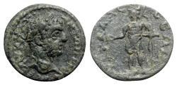 Ancient Coins - Caracalla (198-217). Pisidia, Sagalassus. Æ - R/ Lacaedemon - RARE
