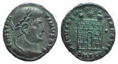 Ancient Coins - Constantine I (307/310-337). Æ Follis. Thessalonica, 326-328.