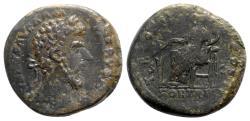 Ancient Coins - Lucius Verus (161-169). Æ Sestertius - Rome - R/ Fortuna