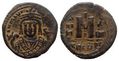 Ancient Coins - Maurice Tiberius (582-602). Æ 40 Nummi - Antioch, year 14