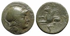 Ancient Coins - Troas, Assos, 4th-3rd century BC. Æ