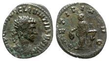 Ancient Coins - Quintillus (AD 270). Radiate - Rome - R/ Laetitia
