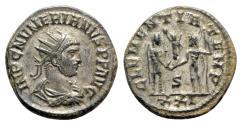 Ancient Coins - Numerian (283-284). Radiate / Antoninianus - Cyzicus