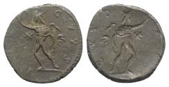 Ancient Coins - Victorinus (269-271). Brockage Radiate. Treveri, AD 270. RARE