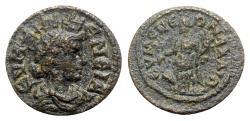 Ancient Coins - Phrygia. Eumeneia. Pseudo-autonomous issue AD 193-235. Æ - Eumeneia / Tyche