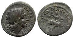 Ancient Coins - Macedon, Koinon of Macedon. Pseudo-autonomous issue. Time of Gordian III (238-244). Æ