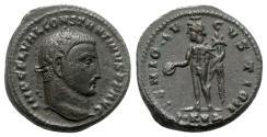 Ancient Coins - Constantine I (307/310-337). Æ Follis - Cyzicus - R/ Genius