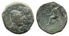 Ancient Coins - ITALY. Bruttium, Lokroi Epizephyrioi, c. 350-300 BC. Æ 18mm