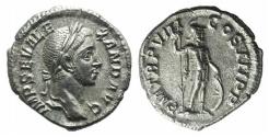 Ancient Coins - Severus Alexander (222-235). AR Denarius R/ MARS