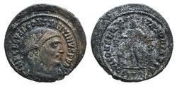 Ancient Coins - Constantine I (307/310-337). Æ Follis. Alexandria, 316-7. R/ Jupiter