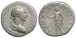 Ancient Coins - Trajan (98-117). Cappadocia, Caesaraea-Eusebia. AR Didrachm, year 6 (112-4). R/ APOLLO