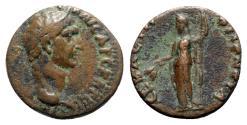 Ancient Coins - Domitian (81-96). Bithynia, Prusias ad Hypium. Æ - R/ Demeter - RARE
