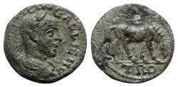 Ancient Coins - Gallienus (253-268). Troas, Alexandria. Æ - R/ Horze grazing