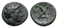 Ancient Coins - Thessaly, Peumata, c. 302-286 BC. Æ Chalkous