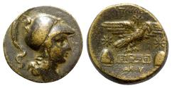 Ancient Coins - Phrygia, Apameia, c. 88-40 BC. Æ - Kokos, magistrate