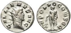 Ancient Coins - Gallienus (253-268). Antoninianus. Mediolanum, 264-5. R/ APOLLO