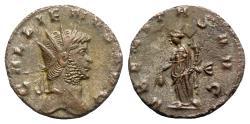 Ancient Coins - Gallienus (253-268). Antoninianus - Siscia - R/ Uberitas