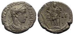 Ancient Coins - Severus Alexander (222-235). Egypt, Alexandria. BI Tetradrachm - year 12 - R/ Alexandria