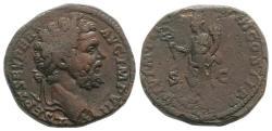 Ancient Coins - Septimius Severus (193-211). Æ Sesterius. Rome, AD 195. R/ Felicitas