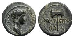 Ancient Coins - Nero (Caesar, 51-54). Lydia, Thyatira. Æ