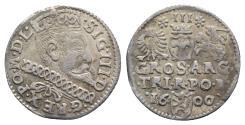 World Coins - Poland. Sigismund III (1587-1632). AR Groschen 1600