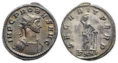 Ancient Coins - Probus (276-282). Radiate - Ticinum - R/ Securitas