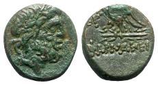 Ancient Coins - Pontos, Pharnakeia, c. 85-65 BC. Æ - Zeus / Eagle