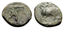 Ancient Coins - Northern Lucania, Poseidonia, c. 350-290 BC. Æ