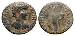 Ancient Coins - Caracalla (198-217). Caria, Peltae. Æ - T. Arion, strategos