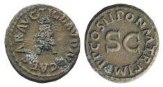 Ancient Coins - Claudius (41-54). Æ Quadrans. Rome, AD 41.