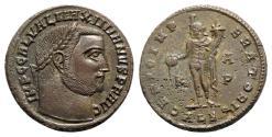 Ancient Coins - Galerius (305-311). Æ Follis - Alexandria