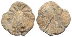 Ancient Coins - Roman PB Tessera, c. 1st century BC - 1st century AD. Modius