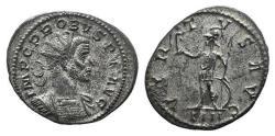Ancient Coins - Probus (276-282). Radiate. Lugdunum, 278-9. R/ VIRTUS